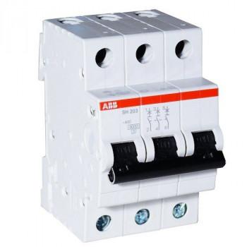 Автоматический выключатель ABB 3-пол.S203C63