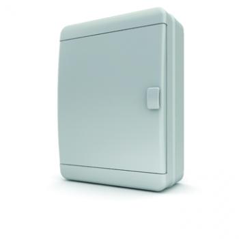Tekfor бокс 24М накладной IP65 непрозрачная белая дверца