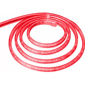 Лента светодиодная 60SMD (5050) 14,42W/m 220V IP68. Длина 50m. 14mm*8mm (красный)