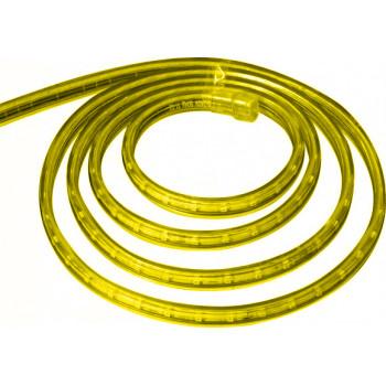 Лента светодиодная 30SMD (5050) 7.2W/m 220V IP68. Длина 50m. 14mm*8mm (желтый)